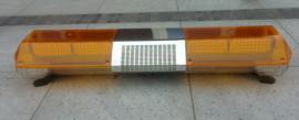LED zwaailichtbalk met vele knipperpatronen.