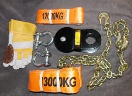 Winch accessoire set ( 8 items )