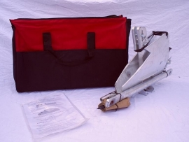 Grondanker, groundanchor , Met gratis robuuste canvas tas.