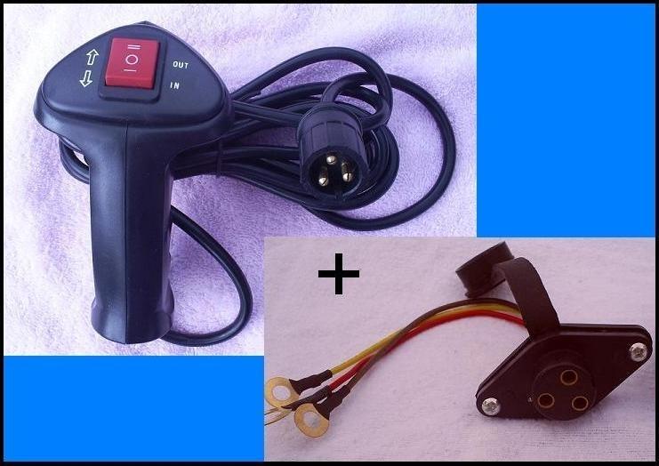 Drie pinsplug + kabelbediening tbv uw jeeplier