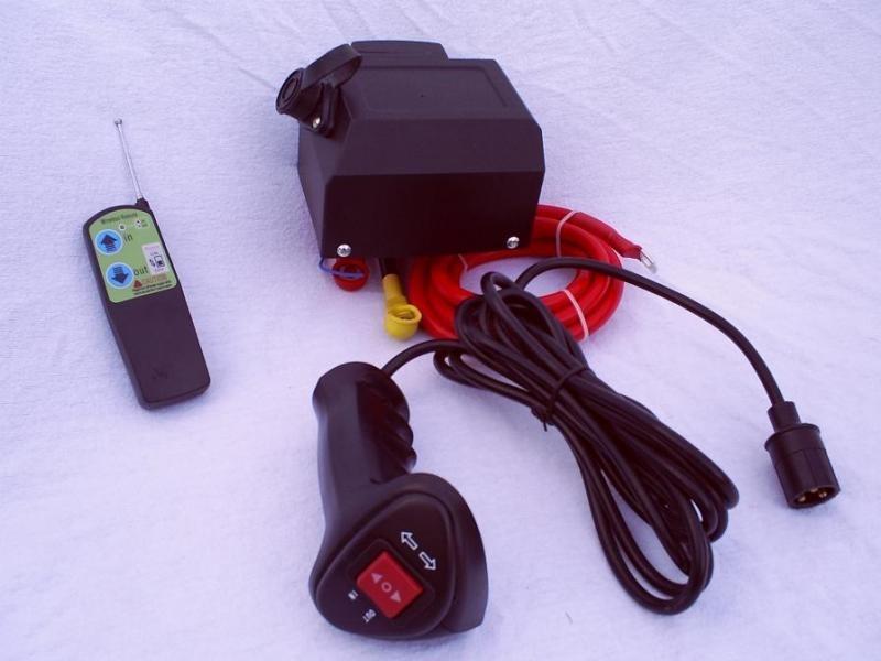 Complete Relaisset  tbv een lier / winch ( Compact model ) 12V / 24V