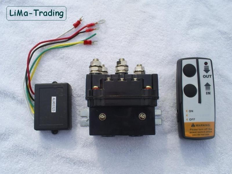 Universeel relais met afstandsbediening 12v / 24v