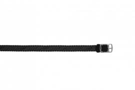 Perlon band 10mm zwart NR.1