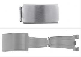 Klapsluiting geschikt voor metaal horlogeband  Citizen,Seiko,Pulsar,Casio SL6442