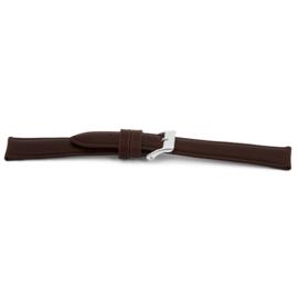 Horlogeband Universeel H030-XL Leder Bruin 22mm-KXL38