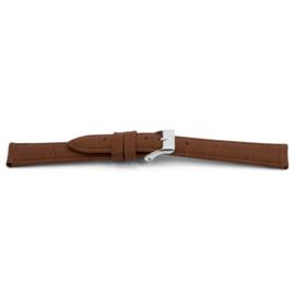 Horlogeband Universeel C349 Leder Cognac 12mm