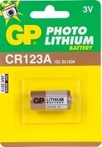 GP fotobatterij 123A