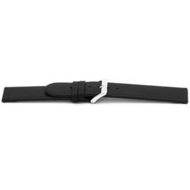 Horlogeband Universeel C116 Leder Zwart 12mm-K13