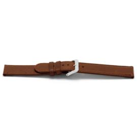 Horlogeband Universeel D401 Leder Bruin 14mm
