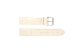 Horlogeband Universeel Leder licht roze 285R.15 LK32