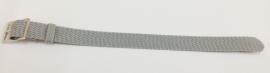Perlon band 14mm licht grijs NR.7