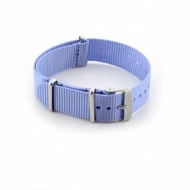 Nato horlogeband licht blauw 20mm md1036.9