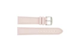 Horlogeband Universeel 283.14 Leder Roze 22mm LK54