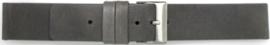 Horlogeband Universeel 827.07 Leder Grijs 20mm