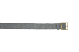 Perlon band 20mm grijs