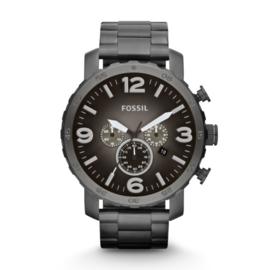 Fossil JR1437 Nate horloge + GRATIS bandverkleiner