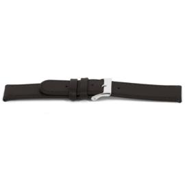 Horlogeband Universeel D400 Leder Bruin 14mm-K71