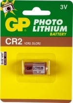Gp fotobatterij CR2