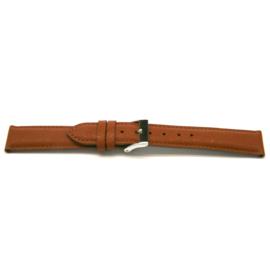 Horlogeband Universeel F311 Saffiano Leder Cognac 18mm-K159