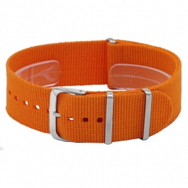 Nato horlogeband oranje 20mm  / NR. 11