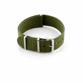 Nato horlogeband groen 20mm  409.27.20