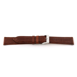 Horlogeband Universeel D360 Leder Bruin 14mm-K69