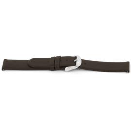 Horlogeband Universeel C300 Leder Bruin 12mm-K20
