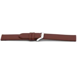 Horlogeband Universeel D706 Leder Rood 14mm-LK96