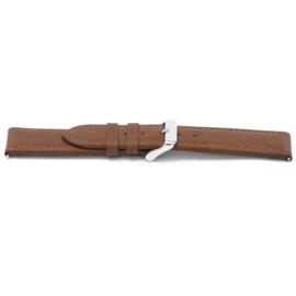 Horlogeband Universeel L330 Leder Cognac 30mm-K335