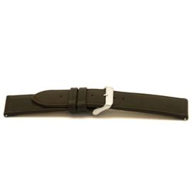 Horlogeband Universeel I380 Leder Bruin 24mm-K296
