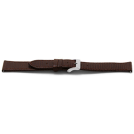 Horlogeband Universeel G333 Leder Bruin 20mm-K209