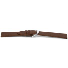 Horlogeband Universeel G455 Leder Bruin 20mm-K221