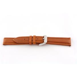 Horlogeband Universeel I385 Leder Cognac 24mm-K297