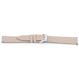 Horlogeband Universeel C716 Leder Roze 12mm-K40