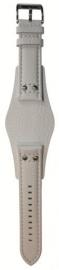 Onderliggende horlogeband wit 22mm CH-2592