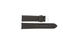 Horlogeband Universeel P354R.02 Leder Bruin 20mm