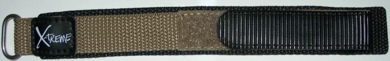 Klittenband 20mm licht bruin NR. 9