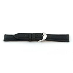 Horlogeband Universeel H170 Leder Zwart 22mm-K249