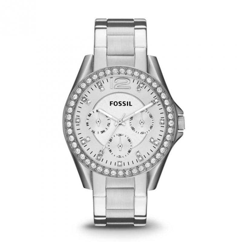 Fossil horloge ES-3202 + GRATIS extra garantie en bandverkleiner