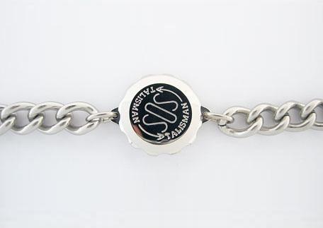 Armband met S.O.S talisman (sosab 9mm)