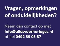 Vragen, opmerkingen of iets niet duidelijk? Neem contact met ons op zodat wij u kunnen helpen!
