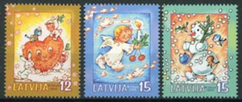 Letland, michel 624/26, xx