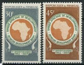 Senegal, michel 403/04, xx