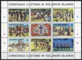 Solomon, michel blok 12, xx