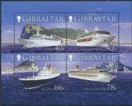 Gibraltar , michel blok 73 , xx