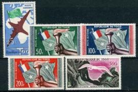 Togo, michel 261/65, xx