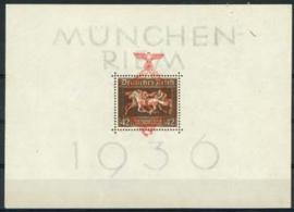 Duitse Rijk, michel blok 10, xx