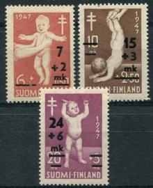 Finland, michel 353/55, xx