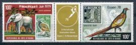 Ivoorkust, michel 571/72, xx