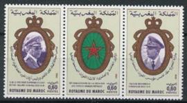 Marokko, michel 957/59, xx